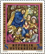 Resultado de imagem para selo de Petrus Canisius