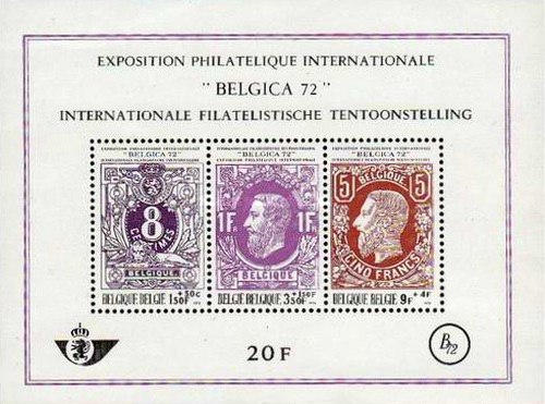 [Stamp Exhibition &quot،،،Belgica 72&quot،،،, type ]