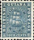 "[Sailing Ship ""Sandbach"" - 1mm Between Value and ""CENTS"". See also No.12-20, type G6]"