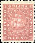 "[Sailing Ship ""Sandbach"" - 1mm Between Value and ""CENTS"". See also No.12-20, type G9]"