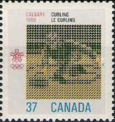 [Winter Olympic Games - Calgary, Canada, type AKZ]
