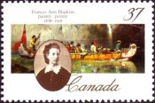 [The 150th Anniversary of the Birth of Frances Anne Hopkins (Artist), type AML]