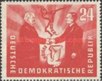 [Oder-Neisse Line - Treaty Between Poland & East Germany, type AJ]