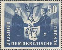 [Oder-Neisse Line - Treaty Between Poland & East Germany, type AJ1]