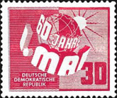[The 60th Anniversary of the 1st.of May Celebrations, type H]