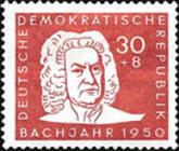 [The 200th Anniversary of the Death of Johann Sebastian Bach, type M]
