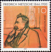 [The 100th Anniversary of the Death of Friedrich Nietzsche, type BUF]