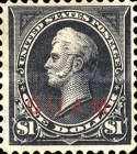 [USA Postage Stamps Overprinted, type A12]