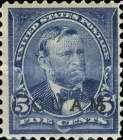 [USA Postage Stamps Overprinted, type A5]