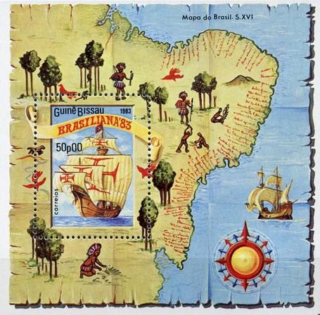 [International Stamp Exhibition &quot،BRASILIANA  83&quot، - Rio de Janeiro, Brazil, type ]