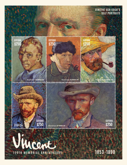 Resultado de imagem para SELO DE Vincent Willem van Gogh