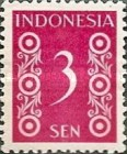 [Numeral Stamps - Different Perforation, type D11]