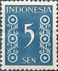 [Numeral Stamps, type D4]