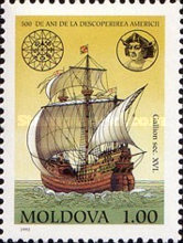[The 500th Anniversary of the Discovery of America, type AE]