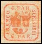[Principality of Romania - Handprint, Typ D3]