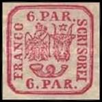 [Principality of Romania - Plateprint, Typ D8]
