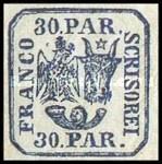 [Principality of Romania - Plateprint, Typ D9]