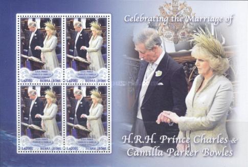 [Royal Wedding - Prince Charles &amp، Camilla Parker Bowles, type ]