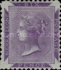 [Queen Victoria - Different Perforation, type A2]