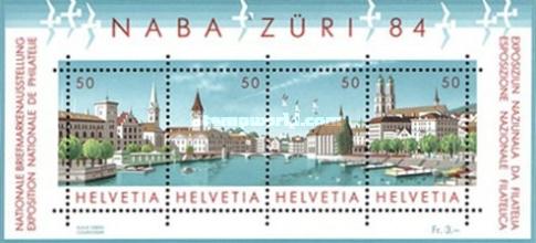 [National Philatelic Exhibition NABA ZURI `84, Zurich, Tip ]