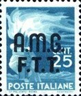 "[Democracy - Italy Postage Stamps of 1945 Overprinted ""A.M.G.F.T.T"", type A]"