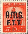 "[Democracy - Italy Postage Stamps of 1945 Overprinted ""A.M.G.F.T.T"", type A10]"