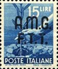 "[Democracy - Italy Postage Stamps of 1945 Overprinted ""A.M.G.F.T.T"", type A11]"