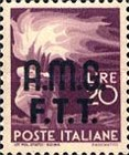"[Democracy - Italy Postage Stamps of 1945 Overprinted ""A.M.G.F.T.T"", type A12]"
