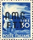 "[Democracy - Italy Postage Stamps of 1945 Overprinted ""A.M.G.F.T.T"", type A14]"