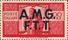 "[Democracy - Italy Postage Stamps of 1945 Overprinted ""A.M.G.F.T.T"", type A16]"
