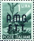 "[Democracy - Italy Postage Stamps of 1945 Overprinted ""A.M.G.F.T.T"", type A2]"