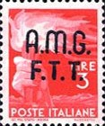 "[Democracy - Italy Postage Stamps of 1945 Overprinted ""A.M.G.F.T.T"", type A4]"