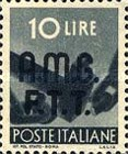 "[Democracy - Italy Postage Stamps of 1945 Overprinted ""A.M.G.F.T.T"", type A9]"