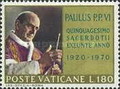 [The 50th Anniversary of the Ordination of Pope Paul VI, Tip LL]