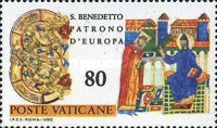 [The 1500th Anniversary of the Birth of The Saint Benedict of Nursias, Tip SL]