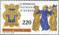 [The 1500th Anniversary of the Birth of The Saint Benedict of Nursias, Tip SO]