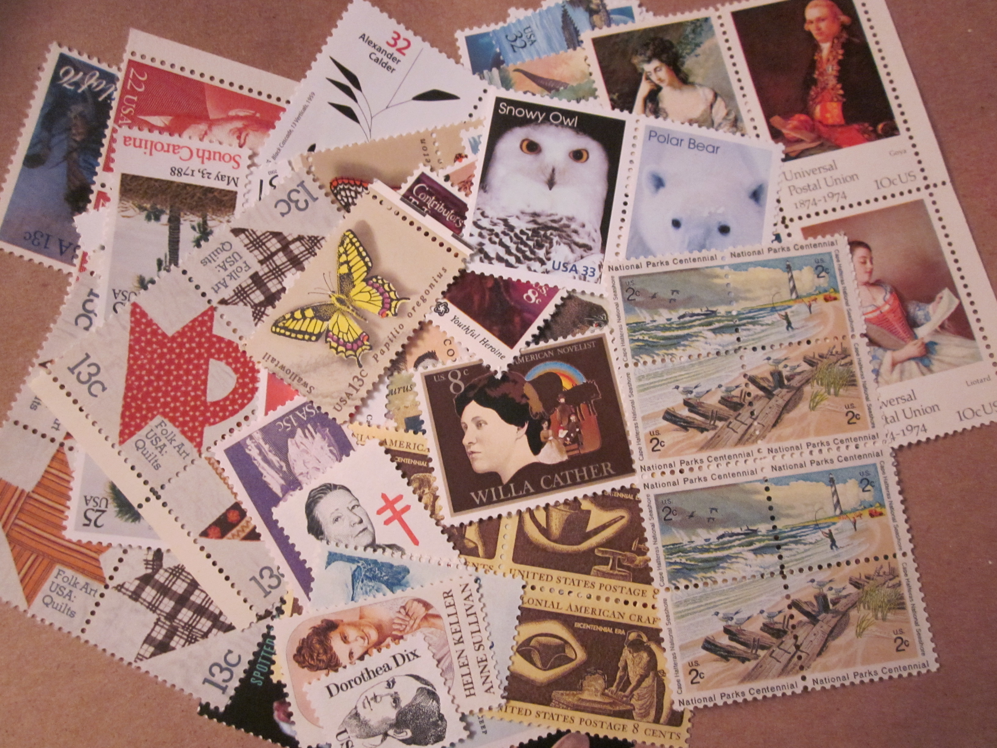 Postage Stamps Categories