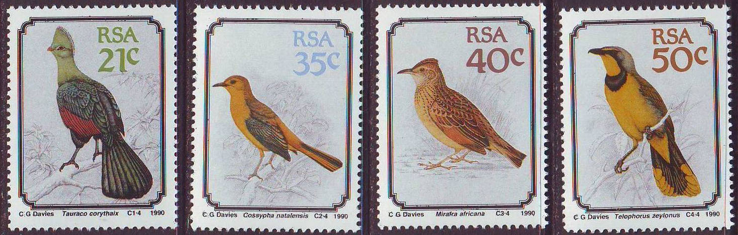 RSA-inscribed South Africa stamp