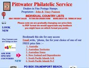 Pittwater stamps